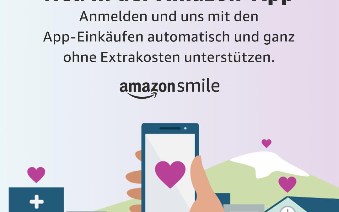 Spenden über AmazonSmile
