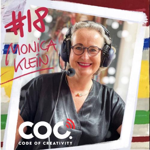 Monica Klein bei Annett Schaper im Podcast Code of Creativity